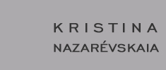 Kristina Nazarévskaia – KNSTUDIOS - Contemporary abstract art by New York City-based artist Kristina Nazarevskaia