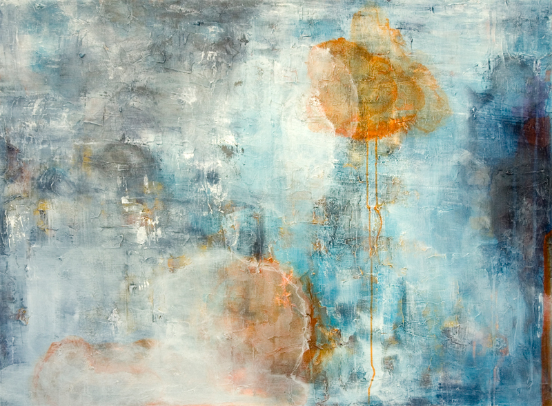 if on a rainy day a traveler 3, 36″ x 48″