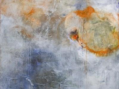 untitled, rain, 42″ x 46″
