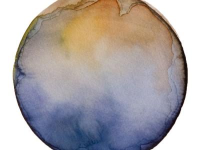Spheres 33. 6″ x 6″ Watercolor on paper